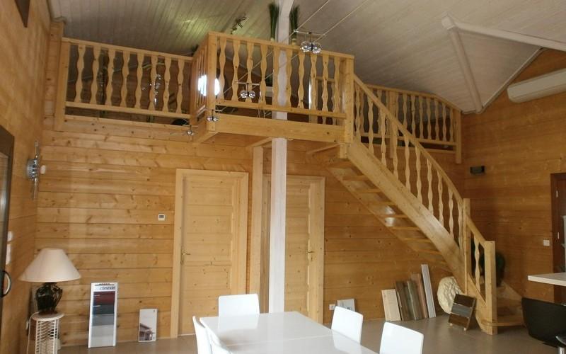 Alaya maison bois trendy extension de maison en bois dans for Constructeur de maison en bois dans les landes