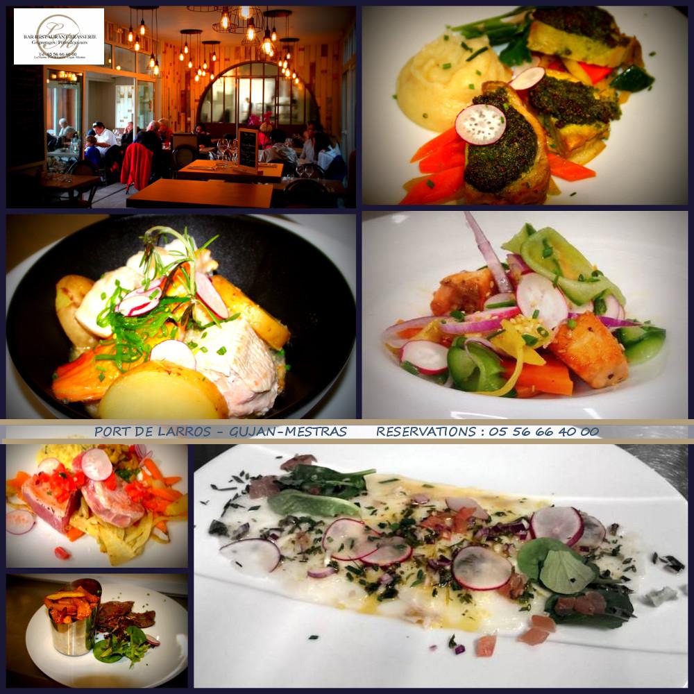 Restaurant La Marine Port De Larros