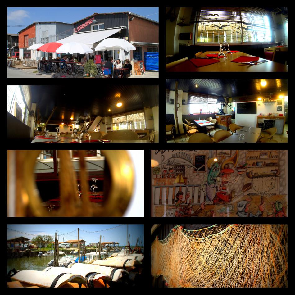 Restaurant l esquirey fruits de mer restaurant 33510 andernos les bains - Restaurant l huitre y est port des barques ...