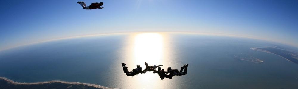 saut en parachute a arcachon
