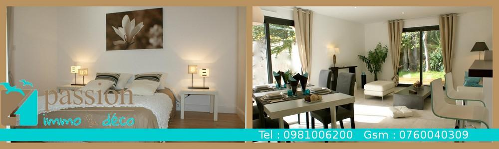 Passion immo et d co agence immobili re home staging for Deco immobilier