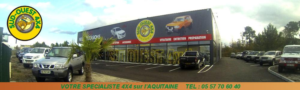 sud ouest 4x4 acc ssoires 4x4 achat vente 4x4 entretien pr paration 4x4 location de 4x4. Black Bedroom Furniture Sets. Home Design Ideas