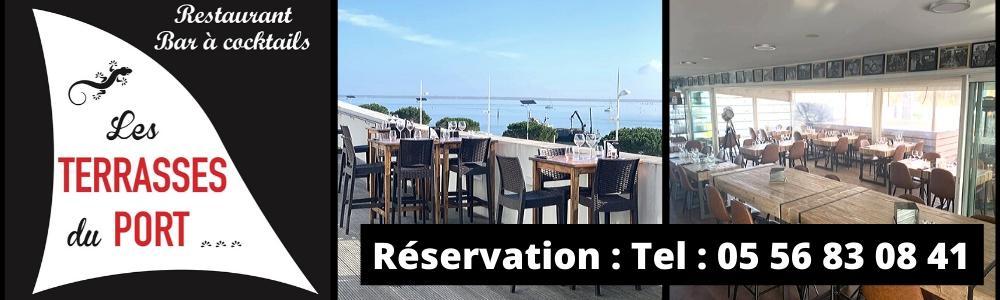Les terrasses du port bar d 39 ambiance bar tapas fruits de mer mariages evenements - Restaurant arcachon port de plaisance ...