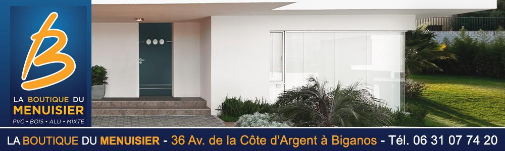 la boutique du menuisier biganos bassin d arcachon domotique fabrication portails garde. Black Bedroom Furniture Sets. Home Design Ideas